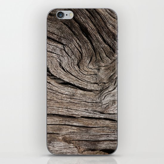 Wood VII iPhone & iPod Skin