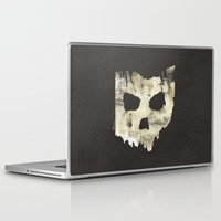ohio state Laptop & iPad Skins featuring Ohio Skull by Will Ruocco