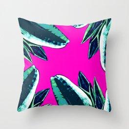 Dusk in summer Throw Pillow