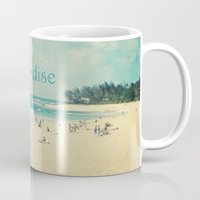 paradise Mugs featuring paradise by Sylvia Cook Photography