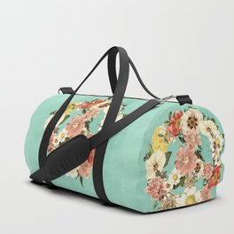 Botanica Peace sign Duffle Bag