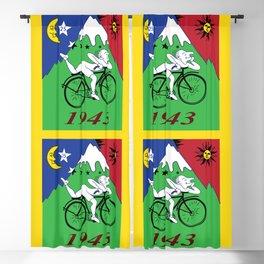 Bicycle Day 1943 Albert Hofmann LSD Blackout Curtain