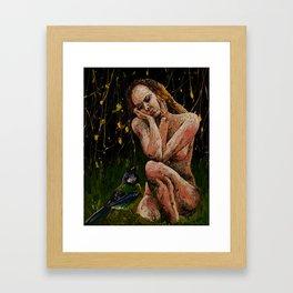 quieten pavor nocturnus remix Framed Art Print