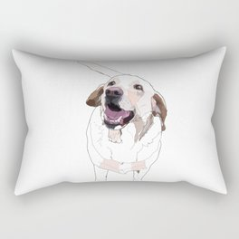 Labrador Rectangular Pillow