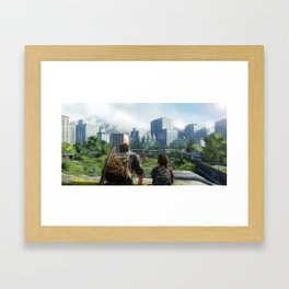 Vanishing Grace Framed Art Print