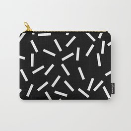Sprinkles Black Carry-All Pouch