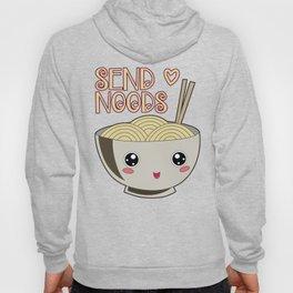 Send Noods Kawaii Ramen Bowl Miso Noodle Soup Gift Hoody