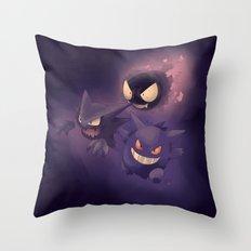 GHOSTS! - Pokémon Throw Pillow