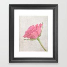 A Rose for my Love Framed Art Print