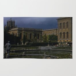Blenheim Palace * 1950's * Vintage England Photo * Kodachrome * Color * Travel Photography Rug