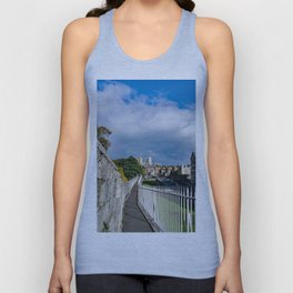 York City Roman wall and Minster Unisex Tank Top