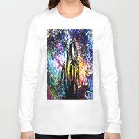 hydra Long Sleeve T-shirts featuring Hydra Distort by blCub