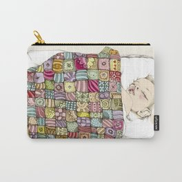 sleeping child Carry-All Pouch