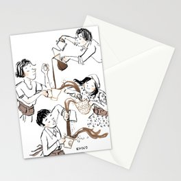 The 4 Baristas Stationery Cards