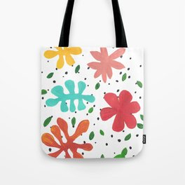 Tropical Leaves Two Tote Bag