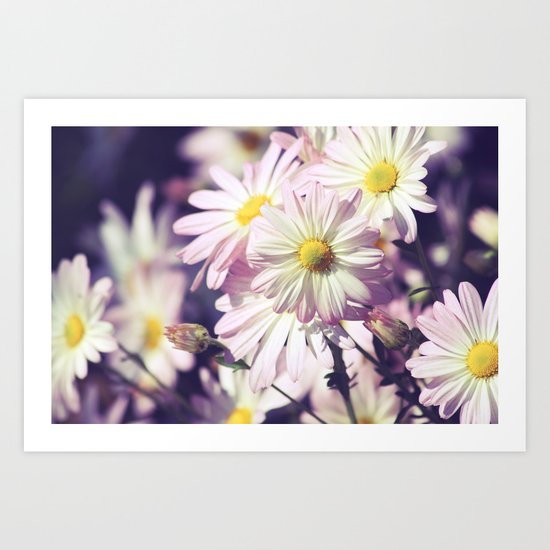 Cheerful Blooms Art Print