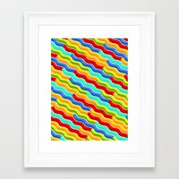 bacon Framed Art Prints featuring Bacon by Roberlan Borges