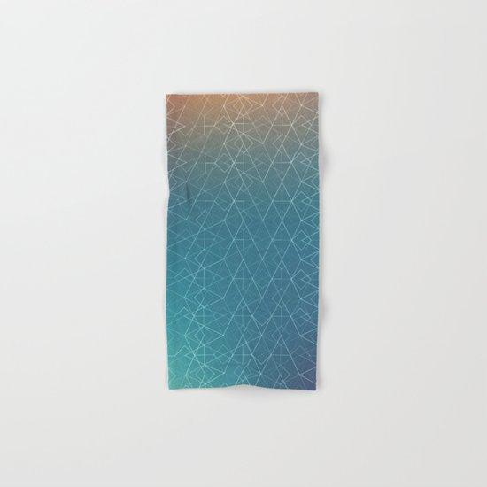 Blurred Geometry Hand & Bath Towel