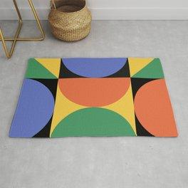 Mid Century Modern Geometric Abstract 234 Rug