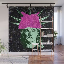 the Lady Liberty Wall Mural