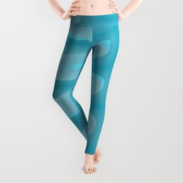 Aqua Jellies Leggings