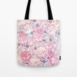 Pastel Florals Tote Bag