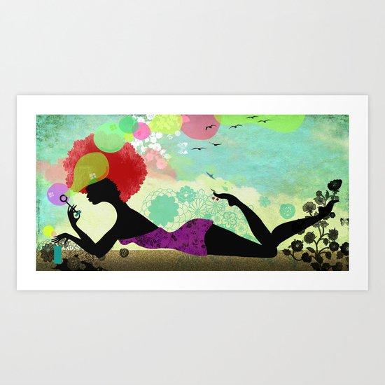 Pustefix Art Print