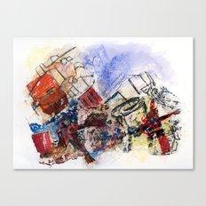 monday dead Canvas Print