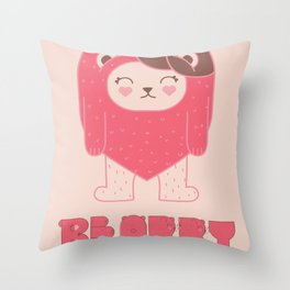 BEARRY Throw Pillow