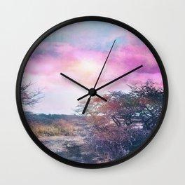 Magical sky Wall Clock