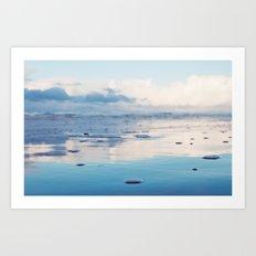 Morning Ocean Art Print