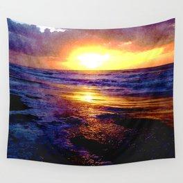 Atlantic Ocean Sunrise Wall Tapestry