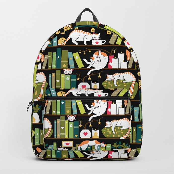 Library cats Backpack