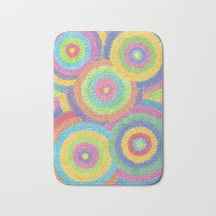 KKP 001 - The eye of the cyclone Bath Mat