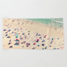 beach love - Nazare Beach Towel