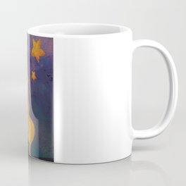 The Stars Lean Down to Kiss You Coffee Mug
