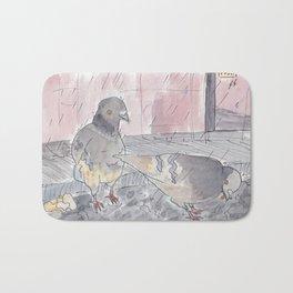 Portland Pigeons - Big Pink Bath Mat