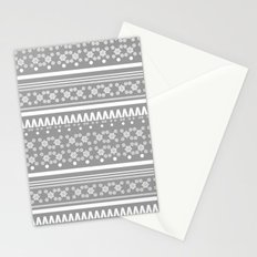 Christmas Jumper Grey Stationery Cards