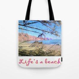 Nerja Beach, Spain Tote Bag