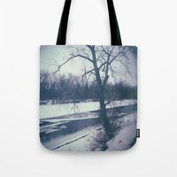 indiana Tote Bags featuring Indiana by Mt Zion Press