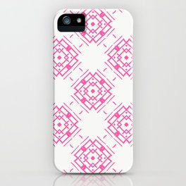 Pink Blooming Boxes iPhone Case