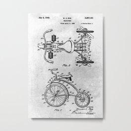No008 1938 Velocipede Metal Print