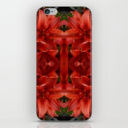 """""""A Gathering of Lilies"""" Remix - 3 (2-1) [D4468~49] iPhone Skin"""