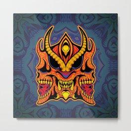 God of Morbidity Metal Print