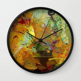 Cultural Layer Wall Clock