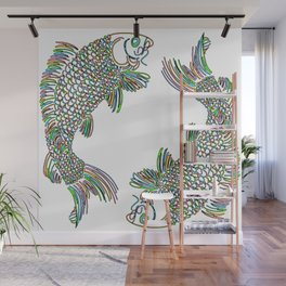 Pisces the Fishes Wall Mural
