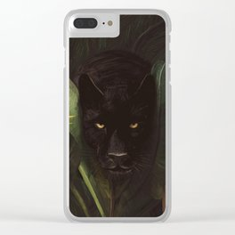 Hello Panther! Clear iPhone Case