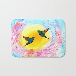Hummingbirds Bath Mat