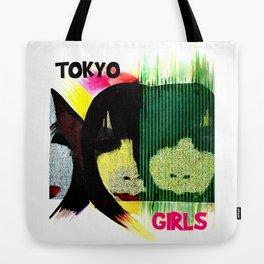 Tokyo Girls Tote Bag