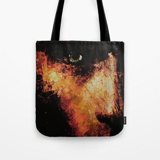 Black Wall Tote Bag